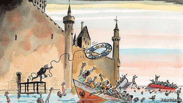 ΕΙΚΟΝΑ - Ευρώπη, μετανάστευση Ο υβριδικός μεταναστευτικός πόλεμος