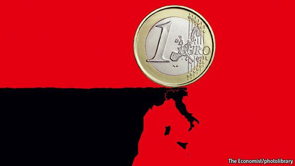 ΕΙΚΟΝΑ - Ιταλία και ευρώ Η ιταλική τραγωδία