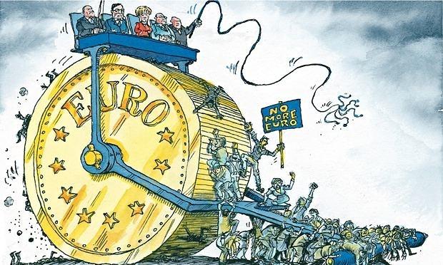 EIKONA - Ευρώ Ευρωζώνη, η φυλακή των σκλάβων