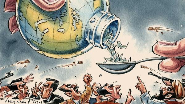 ΕΙΚΟΝΑ - γενική, κόσμος, χρέος, χρήμα, κεντρικές τράπεζες Η υπερχρέωση και το νόμισμα των σκλάβων