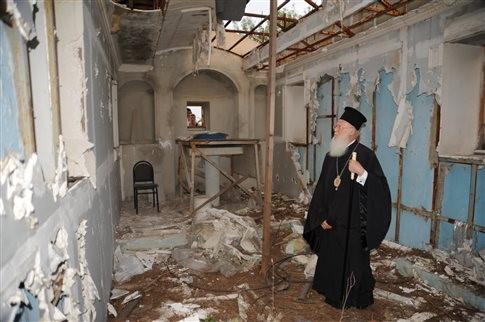 Τουρκία: Συνεχίζει ανενόχλητη το πλιάτσικο Χριστιανικών Εκκλησιών EXTRAS - 2007, Αιφνιδιαστική κατεδάφιση της σκεπής της Μονής Χριστού Σωτήρος από το Δασαρχείο Χάλκης