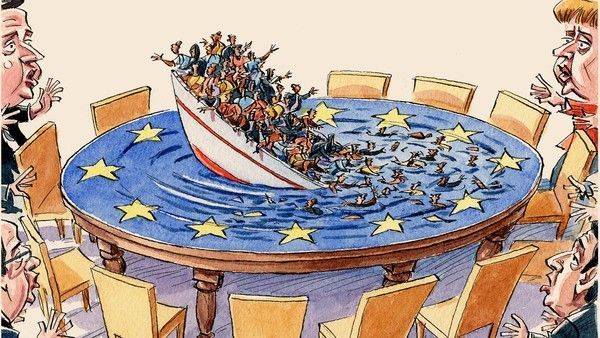 ΕΙΚΟΝΑ - μετανάστευση Οι απελπισμένοι