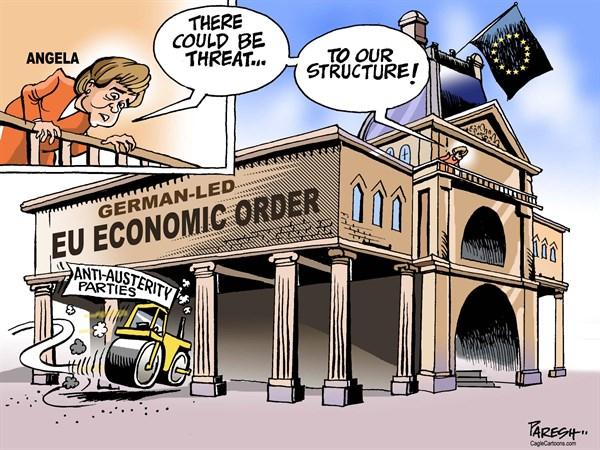 Οι τρομοκράτες του ευρώ και το Target 2