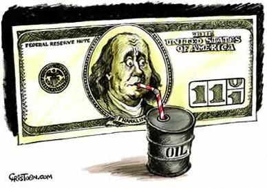 petrodollar-death Η αρνητική σχέση δολαρίου πετρελαίου. Μια από τις βασικές αρχές της παγκόσμιας οικονομίας είναι  η αρνητική σχέση μεταξύ δολαρίου και  πετρελαίου.