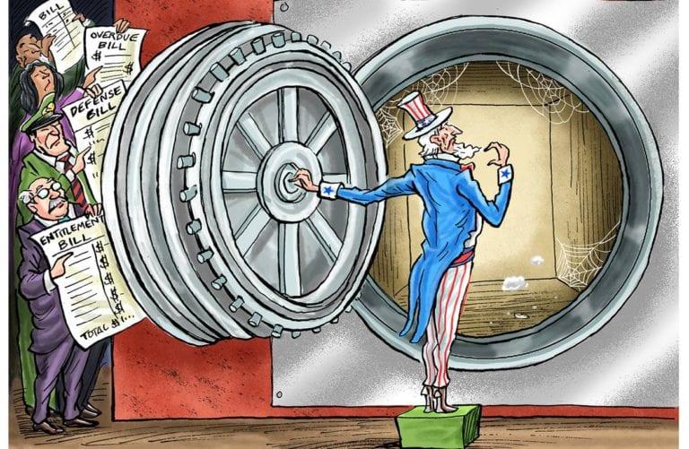 Τα στρατόπεδα Covid-19 και το τέρας του αμερικάνικου χρέους